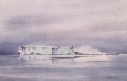 Iceberg - Painted by EAW